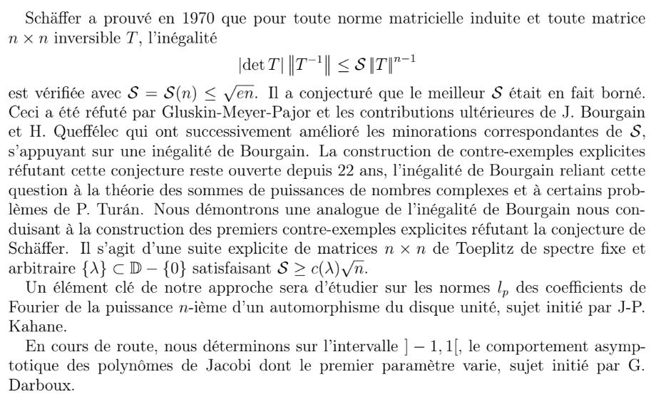 Laboratoire de Mathématiques de Besançon - UMR 6623 CNRS